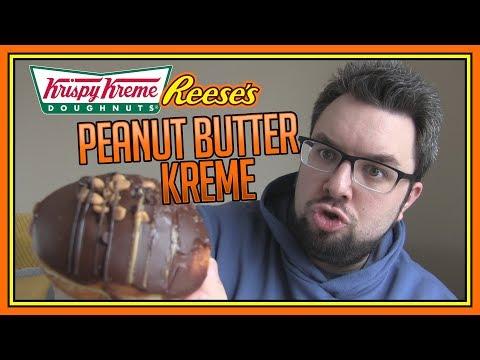 Krispy Kreme Reese's Peanut Butter Kreme Doughnut Review