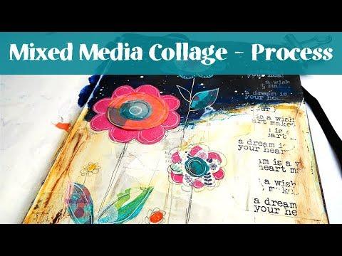 Mixed Media Journal for Beginners - Art Journal Tutorial