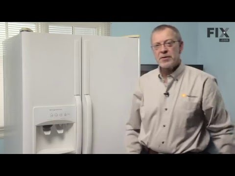 Frigidaire Refrigerator Repair – How to replace the Filter Cup & Housing Assembly