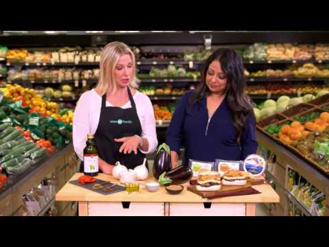 Save-On-Foods Talk About Fresh Solutions - Grilled Eggplant Haloumi Burger
