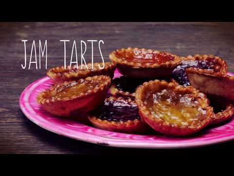 How to make jam tarts - recipe video
