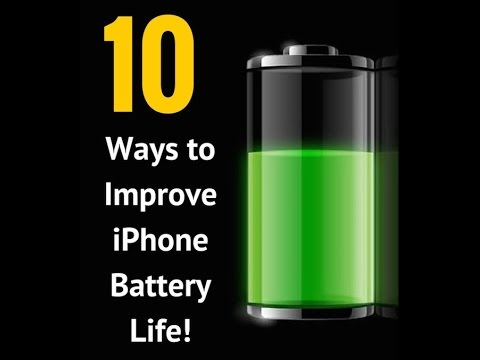 How To Improve iPhone Battery Life [iOS 8 iPhone 6, iPhone 6Plus]