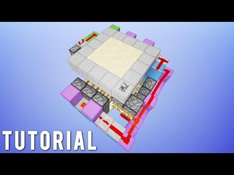 Minecraft: Simple 3x3 Flush Hidden Trapdoor! [Tutorial]