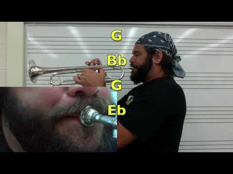 trumpet range