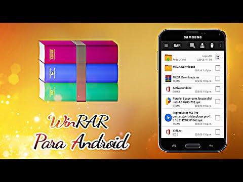 Como Utilizar WinRAR En Android [Ëstudio A]