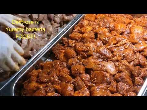 Making Finocchiona (Fennel) and Spicy Cacciatore Salami