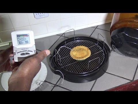 Frozen Chicken Pot Pie, NuWave Oven Heating Instructions, Part 3/3