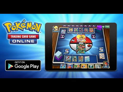 Play the Pokémon TCG Online on Android Tablets