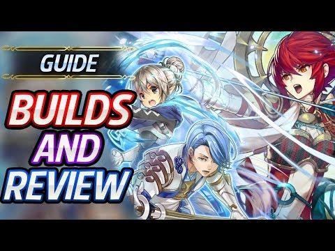 Kinshi Hinoka, Shigure, Female Kana Builds & Review - Fire Emblem Heroes Guide
