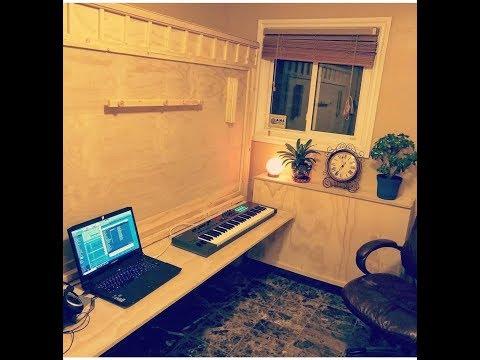 DIY Wall Bed/ Murphy Bed/ Music or Art Studio/ Office