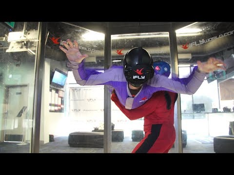 Tested: Indoor Skydiving with Virtual Reality!