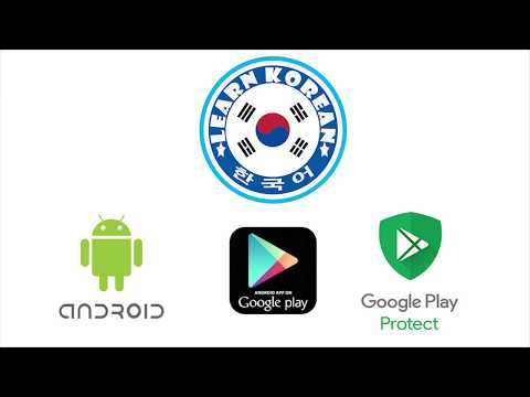 the best LEARN KOREAN LANGUAGE  app on PlayStore