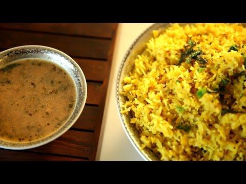 Hyderabadi Khichdi Recipe | Hyderabadi Khatta Recipe | Masala Trails With Smita Deo