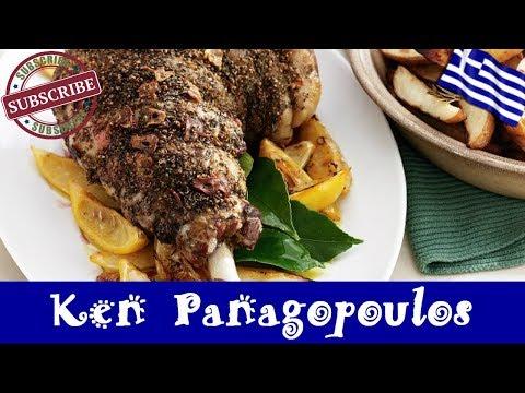 Greek Roast Lamb and Potatoes - Lemon, Olive Oil and Oregano Roast Lamb and Potatoes
