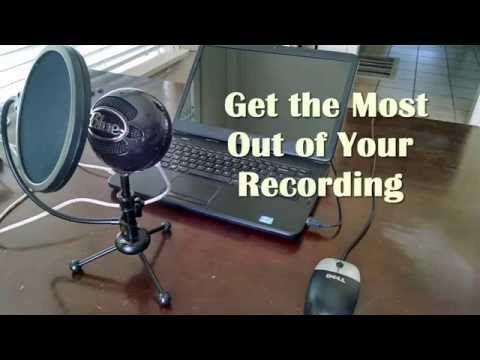 EASY Recording Studio Microphone Setup and Recording tips for Beautiful Home Audio