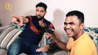Yuvraj Singh Talks About Girls, Gas and Ganguly with The Quint!
