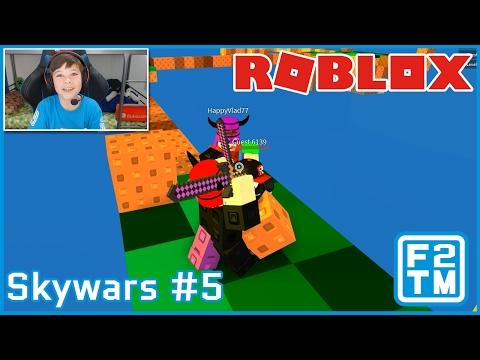 TEAMING UP BETRAYAL!!! - Roblox Skywars #5