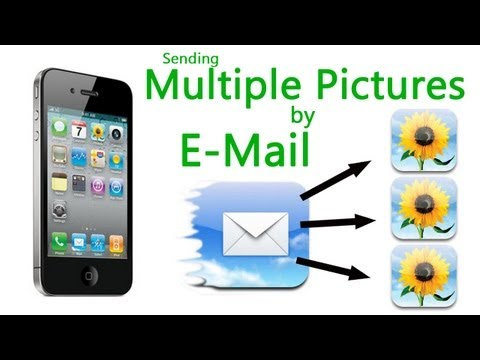 How to Send Multiple Pictures by E-Mail on iPhone, iPad, iPod Touch