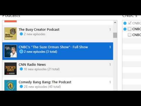 iTunes Doesn't Update Podcasts; How do you get latest podcasts for iPod Nano?