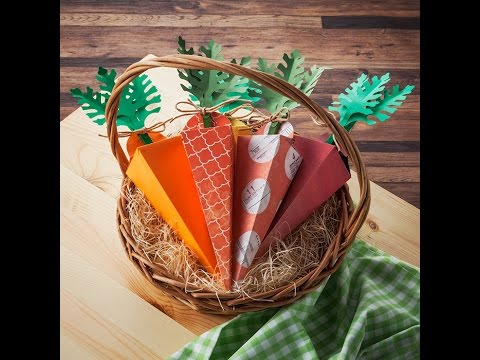 Canvas Project: Carrot Gift Box