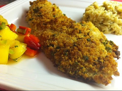 Panko Breaded Fish Fillet Recipe - Perfectly Moist with Added Crunch! - Episode #48