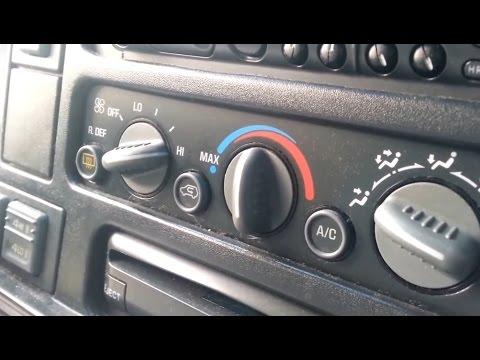 1997 4x4 chevy tahoe , GMC Truck , Suburban SUV blend door actuator heat ac  for 1990 -1999 part 1
