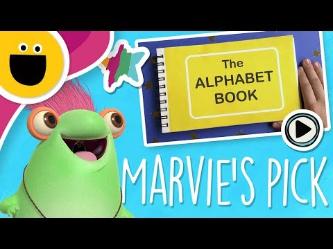 Marvie's Pick: Alphabet Flipbook (Sesame Studios)