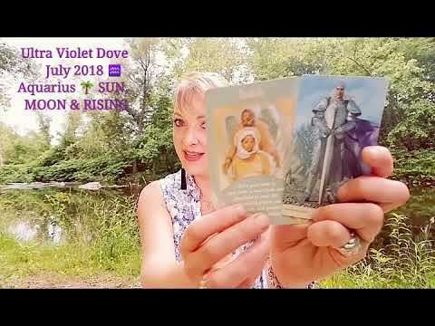 Aquarius ♒ July 2018 🍓 A NEW ADDITION AND A SILVER LINING 🍓 INTUITIVE MYSTIC TAROT ANGEL ORACLE