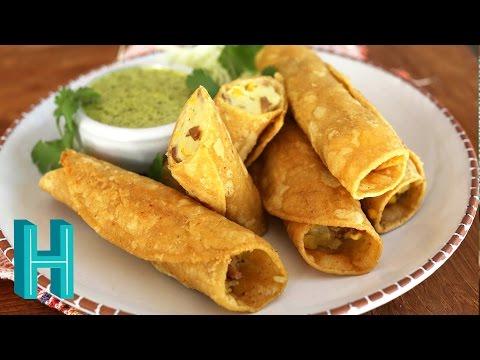 How to Make Potato Taquitos | Hilah Cooking