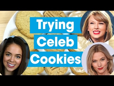 Celebrity Holiday Cookies Taste Test ft. Claudia Sulewski