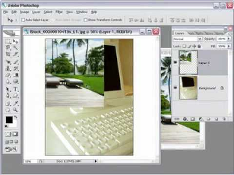 photoshop cs4 Moving Layers Between Images