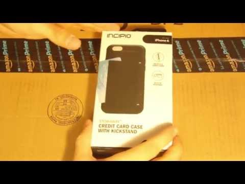 Unboxing of Incipio Card Case of iPhone 6