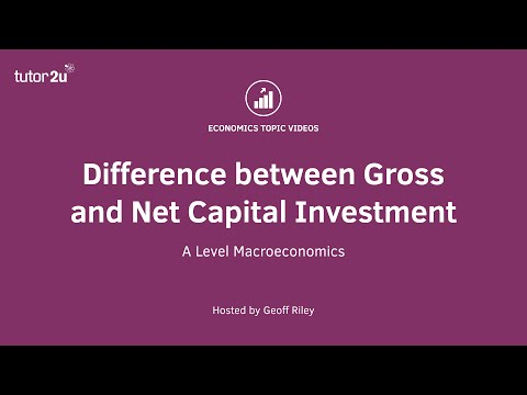 Difference between Gross and Net Investment