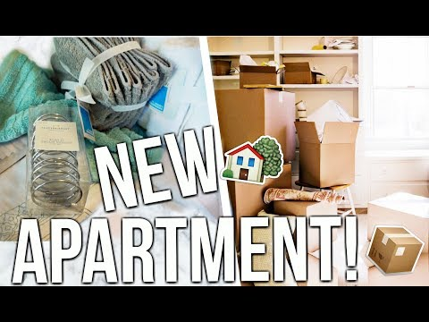 MOVING VLOG!! My New College Apartment! UNC Charlotte