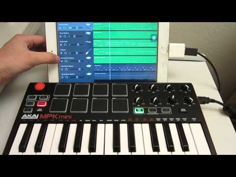 Akai Pro MPK mini MKII Complete Setup, Software Download