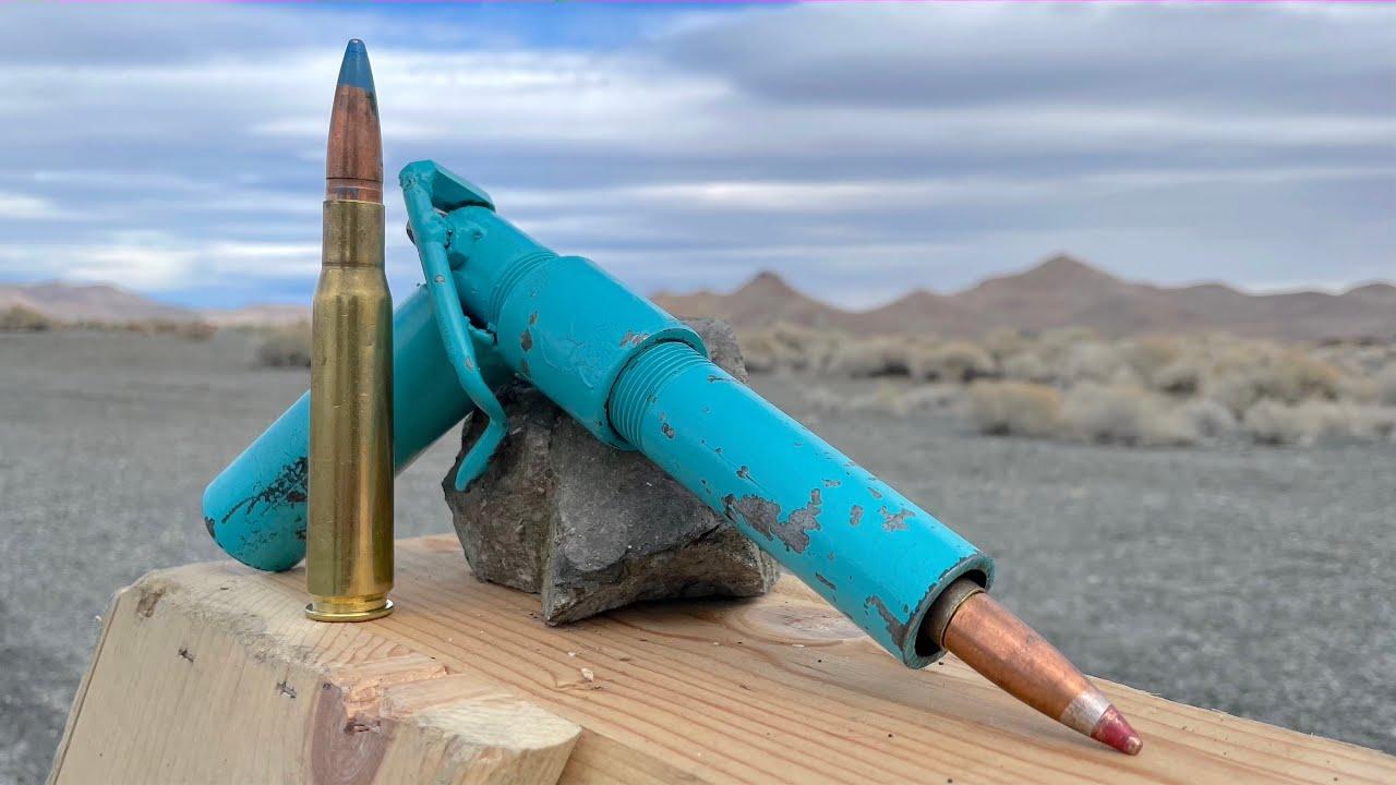 World's Smallest 50cal Pistol