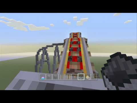 How To Build A Realistic Roller Coaster In Minecraft - 2