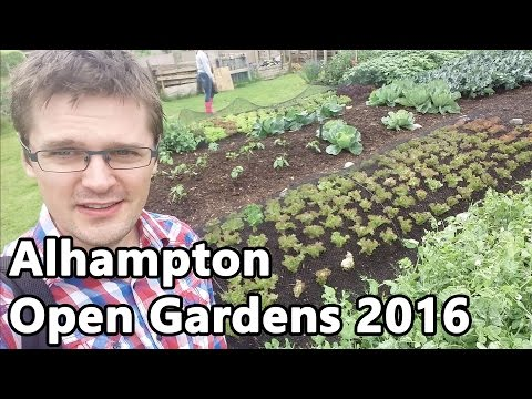 Alhampton Open Gardens - Charles Dowding Homeacres, Gert Schley Meadowside