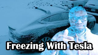 Surviving winter with a Tesla