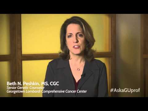 Beth Peshkin spells out the pros and cons of genetic testing for hereditary cancer