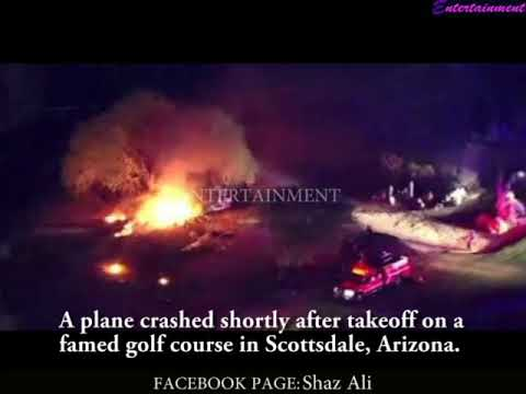 Plane crashed after takeoff in Scottsdale, Arizona