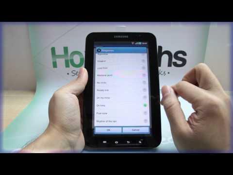 How to Set the Alarm on Samsung GALAXY Tab