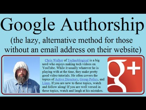 Google Authorship, the lazy way