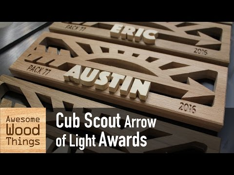 Cub Scout Arrow of Light Awards