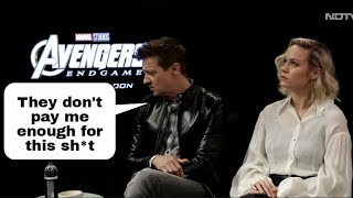 The Avengers Hate Brie Larson - Jeremy Renner Throws MAJOR Shade At Her!
