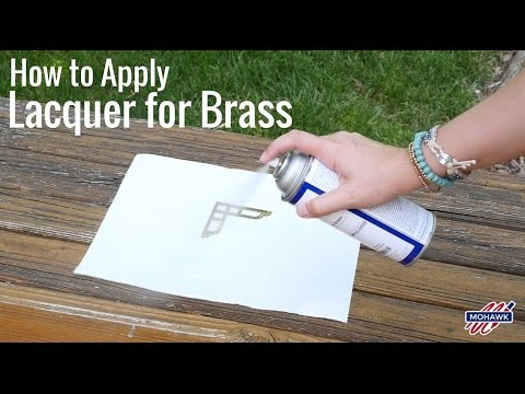 How to Apply Lacquer for Brass