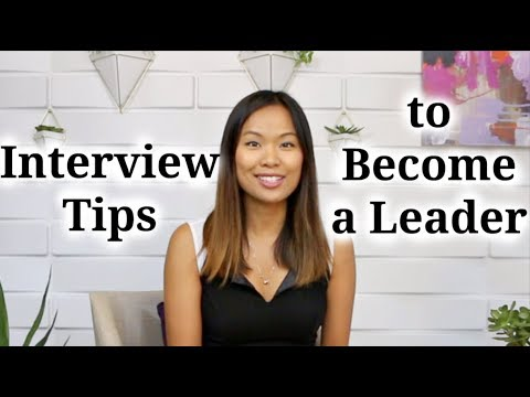 Interview Tips to Become a Leader - 4 Secrets to Career Growth