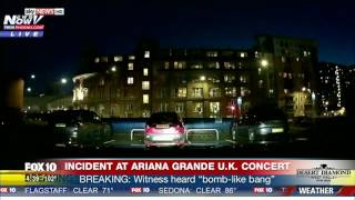 watch hear the explosion at ariana grande manchester concert 19 people confirmed dead