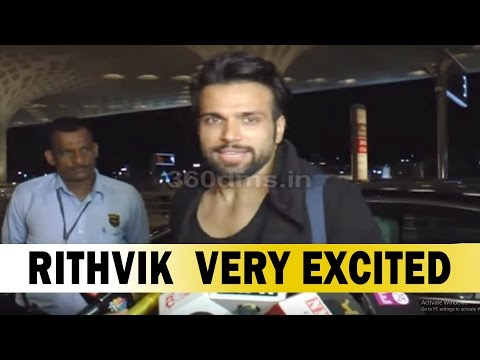 Xxx Mp4 Rithvik Dhanjani Very Excited For The Competition In Khatron Ke Khiladi 3gp Sex