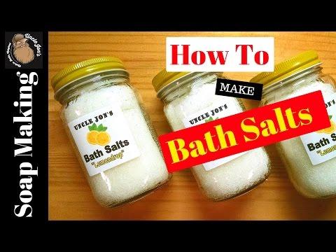 How To Make Citrus Bath Crystals- Easy Recipe